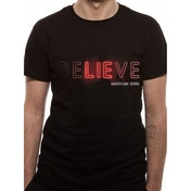 American Gods - Believe Men's X-Large T-Shirt - Black
