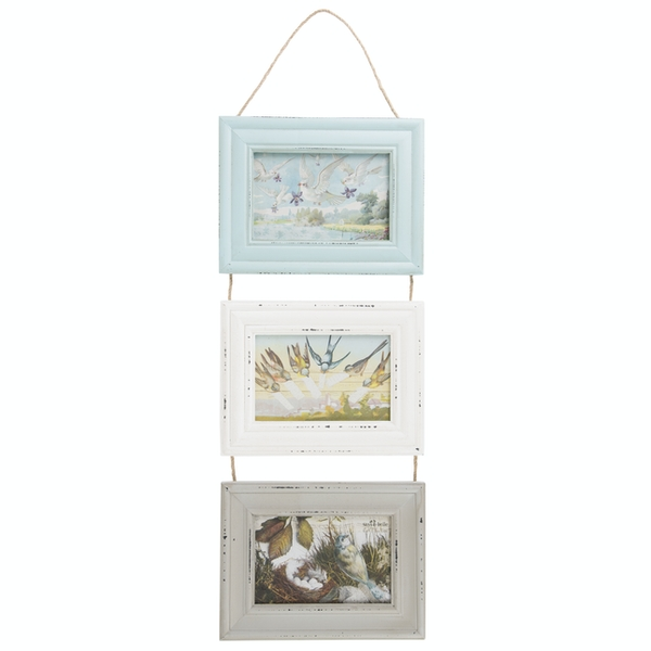 Sass & Belle Delilah Triple Photo Frame