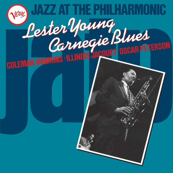 Lester Young - Jazz At The Philharmonic- Carnegie Blues Vinyl