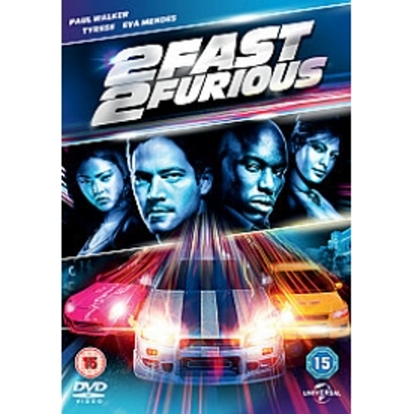 2 Fast 2 Furious (2013 Release) DVD