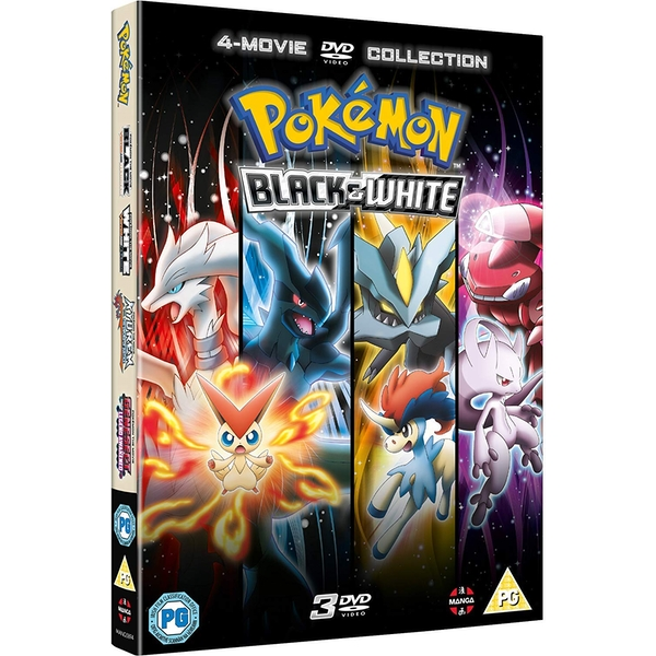 Pokemon Movie 14-16 Collection: Black & White DVD