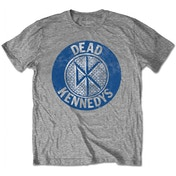 Dead Kennedys - Vintage Circle Men's Small T-Shirt - Grey