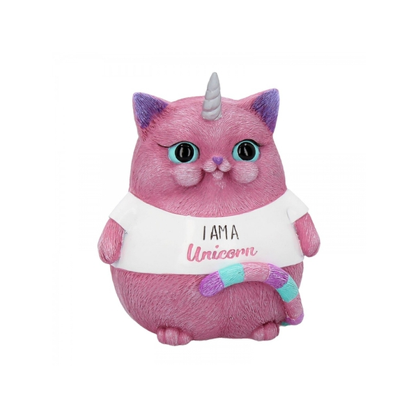 I am a Unicorn Cat Statue