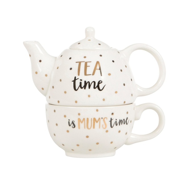 Sass & Belle Mum Time Teapot For One