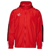 Sondico Venata Rain Jacket Adult Large Red/White/Black