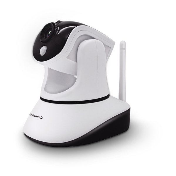 Dynamode - Smartphone Ready Wireless Colour IP Camera With Zoom (White)