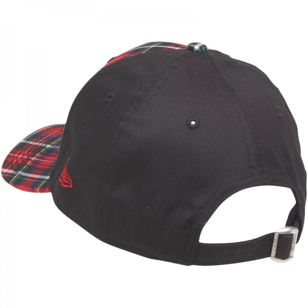 New Era MLB 9Forty Plaid New York Yankees Strap Back Cap Red   Black - Image 41dec865d6d