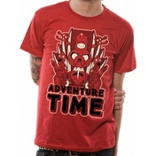 Adventure Time - Mirror Image Men's Medium T-Shirt - Red