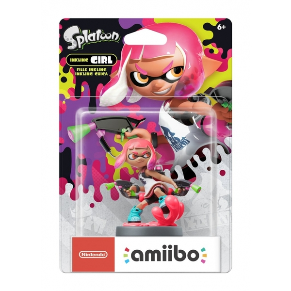 Inkling Girl Amiibo (Splatoon 2) for Nintendo Switch