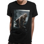 Lord Of The Rings - Gollum Men's Large T-Shirt - Black