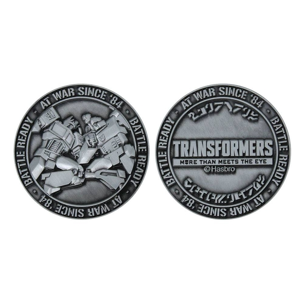Transformers Collectable Coin Battle Ready Limited Edition