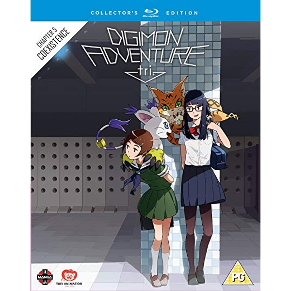 Digimon Adventure Tri The Movie Part 5 Collectors Edition Blu-ray