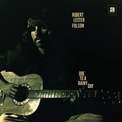 Robert Lester Folsom - Ode To A Rainy Day: Archives 1972-1975 Vinyl