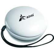 Adin Singer 2  5W Vibration Speaker Radio in White