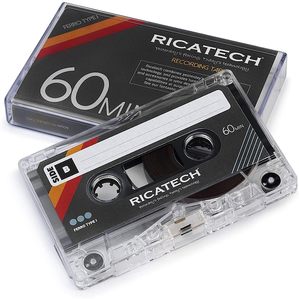 CT60 Blank Cassette Tapes Set Of 2