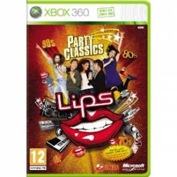 Lips Party Classics Solus Game Xbox 360