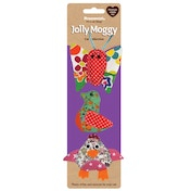 Rosewood Jolly Moggy Patchwork Trio Cat Toy