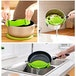 Silicone Clip on Pan Sieve & Strainer | FREE Clip On Pour Spout | M&W - Image 6
