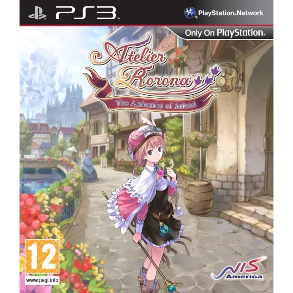 Atelier Rorona The Alchemist of Arland Game PS3