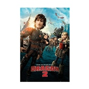 How to Train Your Dragon 2 One Sheet Maxi Poster