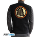 Dragon Ball - Kame Symbol Men's Large Hoodie - Black - Image 2