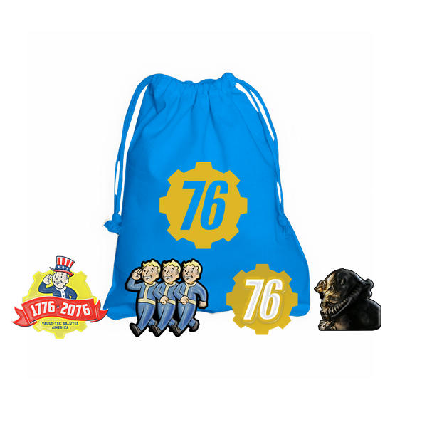 Fallout 76 PC Game + Exclusive Pin Badge Set (inc BETA) - Image 5