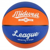 Midwest League Basketball Blue/Orange Size 5