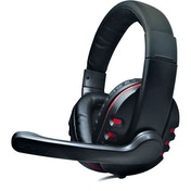 Dynamode MX-878 Monaural Head-band Black,Red headset