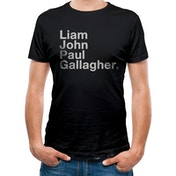 Liam Gallagher - Ljpg Men's Large T-shirt - Black
