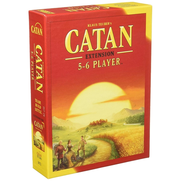 Catan 5-6 Extension for 5-6 Players (2015 Edition) Board Game - Image 1