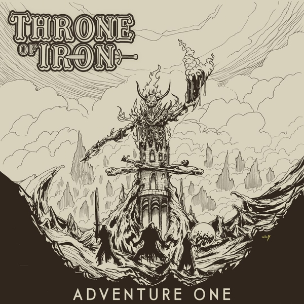 Throne Of Iron – Adventure One Limited Edition Gold Vinyl
