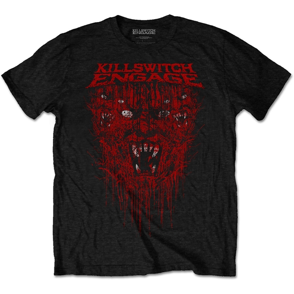 Killswitch Engage - Gore Unisex Large T-Shirt - Black