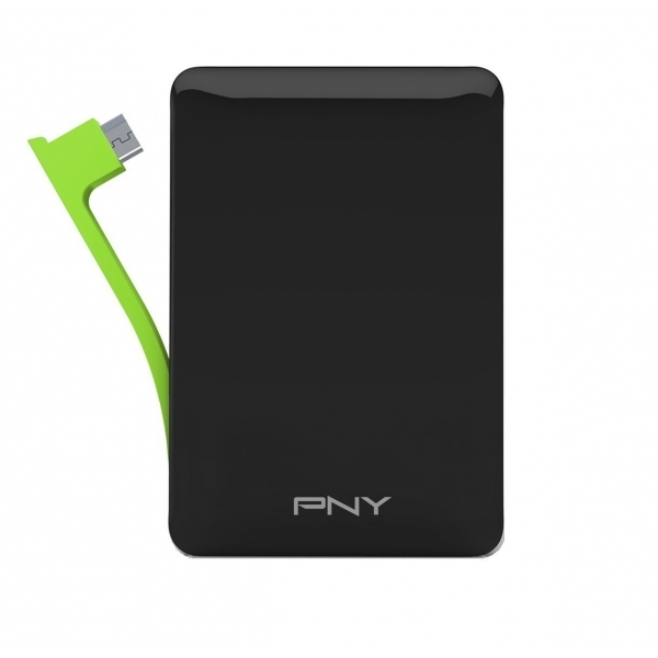 PNY M3000 Externeal Rechargeable battery 3000 mAh Black
