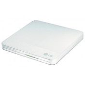 LG 12.7mm Base Ext DVD-RW White USB 2.0