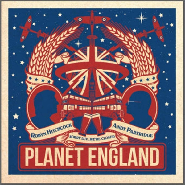 Robyn Hitchcock / Andy Partridge - Planet England Ep Vinyl