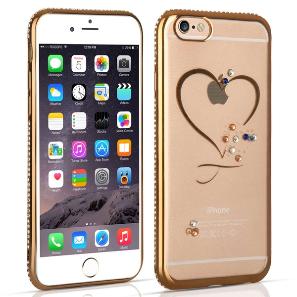 Compare prices with Phone Retailers Comaprison to buy a Apple iPhone 6 / 6s Diamond Edge Case - Gold