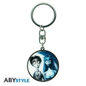 Corpse Bride - Victor & Emily Metal Keychain