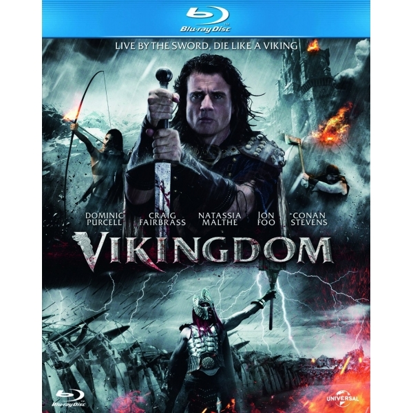 Vikingdom Blu Ray