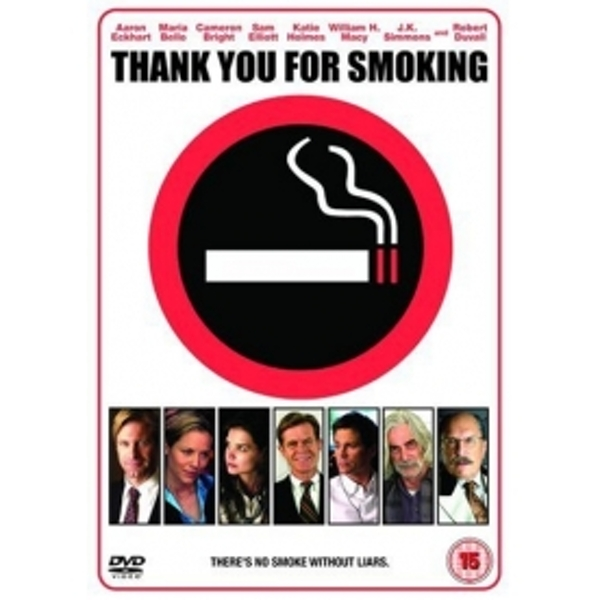 a critique of thank you for smoking Critic reviews for thank you for smoking audience reviews for thank you for smoking ½ with a solid performance from aaron eckhart and offering us a deliciously clever commentary on rhetoric, reitman's debut is an enjoyable satire - even though it must have looked real nice on paper.