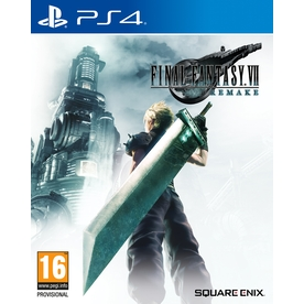 Final Fantasy VII Remake PS4 Game (with Chocobo Chick Summon Materia DLC)