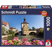 Schmidt Old Town Hall, Bamberg Jigsaw Puzzle - 1000 Pieces