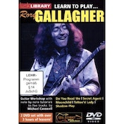 Lick Library: Learn To Play Rory Gallagher DVD