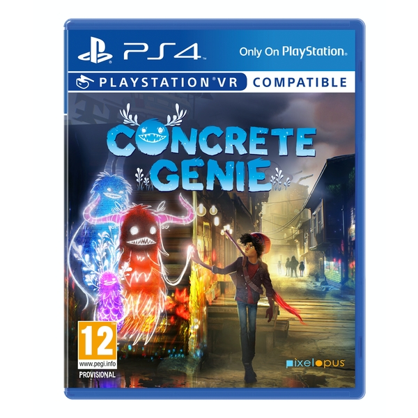Concrete Genie PS4 Game (PSVR Compatible)