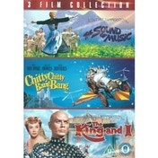 3-Film Collection: The Sound Of Music   Chitty Chitty Bang Bang   The King And I DVD