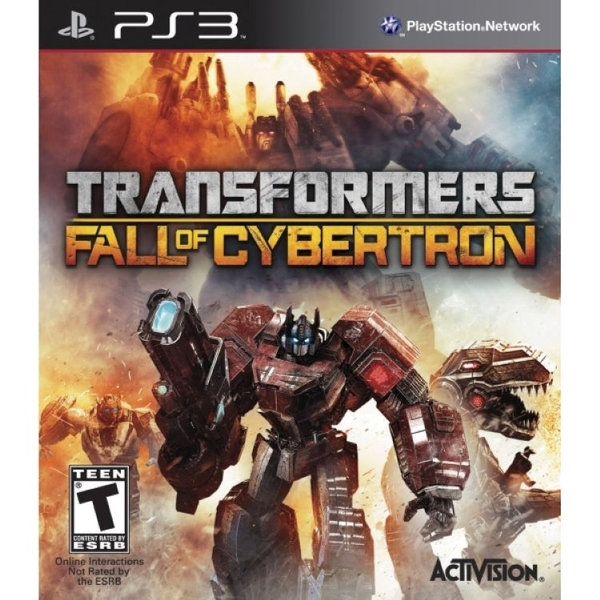 Transformers Fall of Cybertron Game PS3