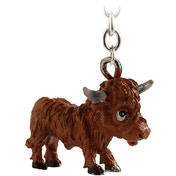 Little Paws Key Ring Highland Cow