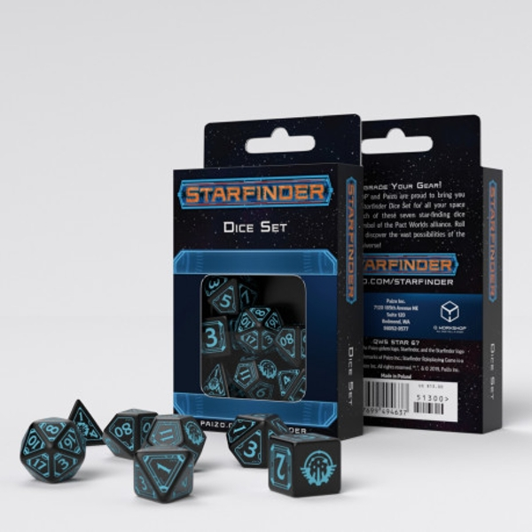 Q-Workshop Starfinder Dice Set