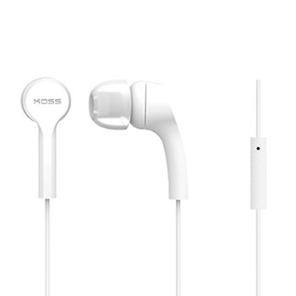 "Koss ""KEB9i"" earphones, white"