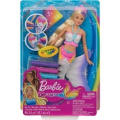 Barbie Dreamtopia Colour In Mermaid