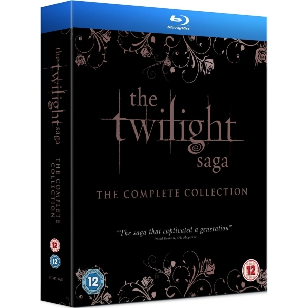 The Twilight Saga The Complete Collection Blu-ray